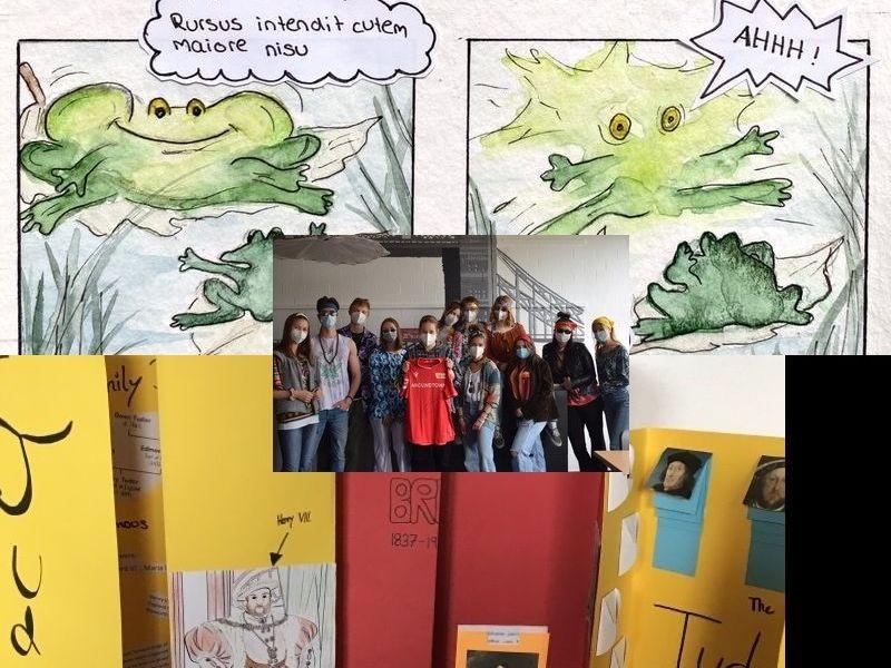 Schülerinnen und Schüler sind kreativ im Unterricht – Unterricht mal anders – 3 neue Projekte