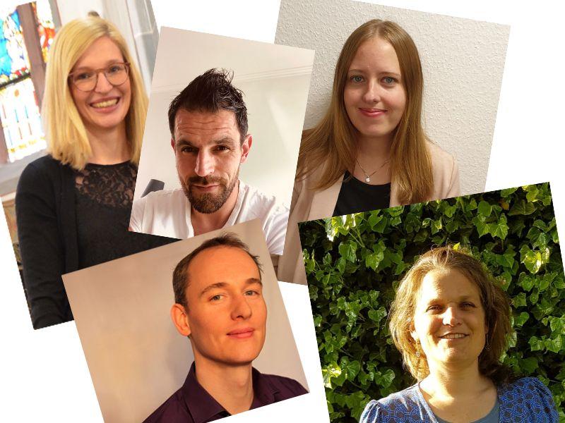 Neue Kolleginnen und Kollegen am PKG