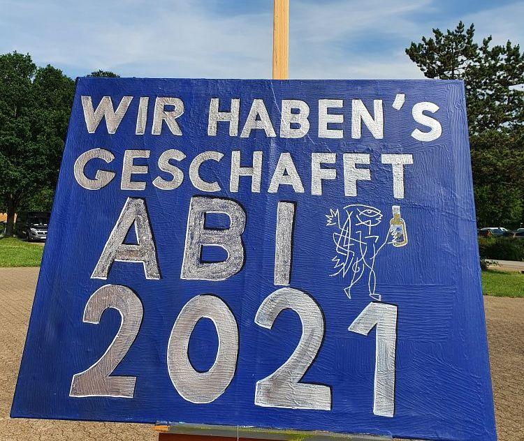 Abitur 2021 am PKG Zeugnisfeier – CoroABIer- der Abi schmeckt auch von zuhause.